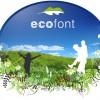 Logo Ecofont, courtesy of Ecofont.com