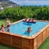 Voglia di piscina a casa: meglio fuoriterra e in legno
