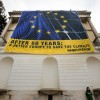 """Greenpeace a Roma: """"Un'Europa rinnovata, ma anche più rinnovabile"""""""