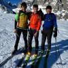 Verso Davos con gli sci, per protestare contro la crisi climatica