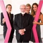 Michelangelo Pistoletto e le fondatrici di EverManifesto