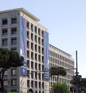 Headquarters Fao Roma, Courtesy of Wikimedia