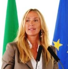 Stefania Prestigiacomo, Courtesy of Ministero dell'Ambiente