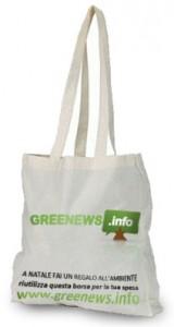La borsa in cotone biologico di Greenews.info