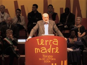 Carlo Petrini a Terra Madre, Courtesy of Sentieriselvaggi.it