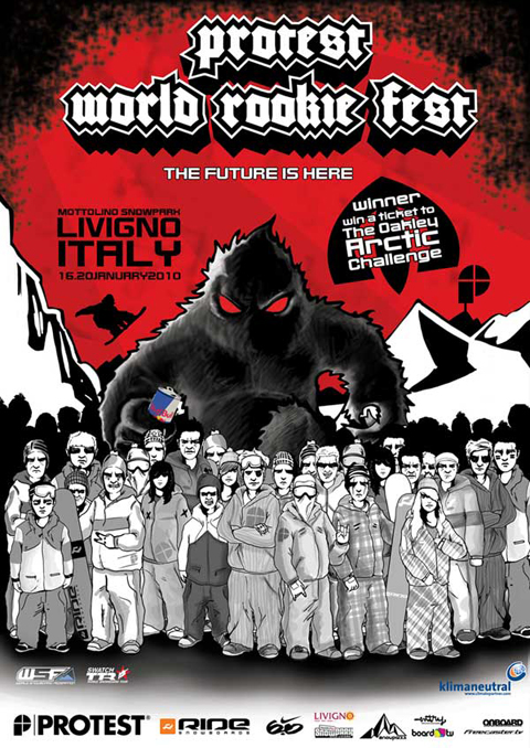 Protest World Rookie Fest