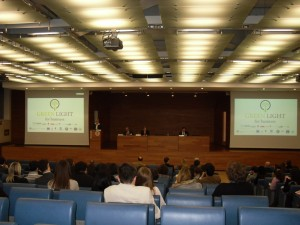 Green Light for Business, Aula Magna Gobbi, Università Bocconi