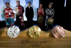 Vancouver 2010 Medals Olympics