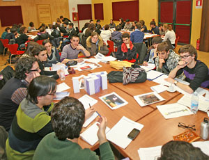 Un'immagine del forum Democrazia 2.0, Courtesy of Biennale Democrazia