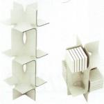 Modulo Minimal Shelf in legno liquido, courtesy of Magis
