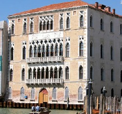 Cà Foscari, sede dell'Università di Venezia, Courtesy of BlogVenezia.it