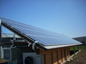 Un impianto fotovoltaico di Eplusplus; Courtesy of E++ Srl