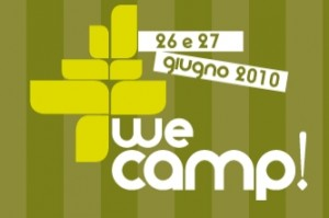 we camp, Courtesy of wecamp.it