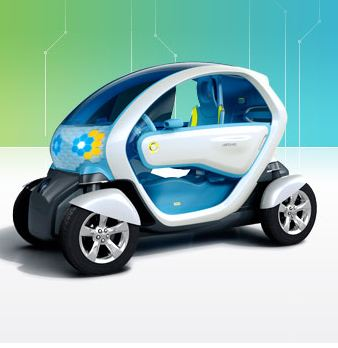 Twizy ZE, Courtesy of Renault