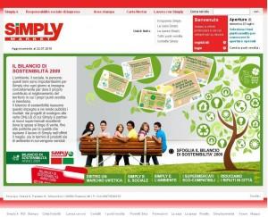 snapshot sito Simply