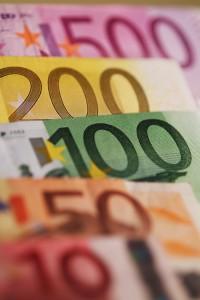 Banconote in Euro, Courtesy of Luca Caporale