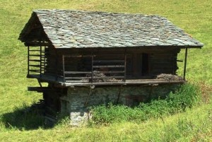 Un caratteristico stadel di Gressoney, Courtesy of Regione Valle d'Aosta