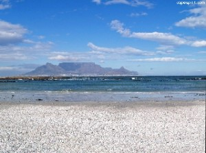 Big Bay Beach  Table Mountain