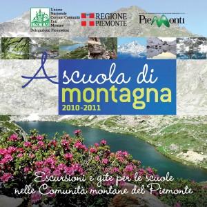 Copertina A scuola di montagna, Courtesy of Uncem.piemonte.it