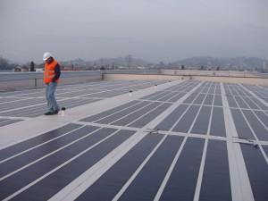 Impianto fotovoltaico, Courtesy of Diesel