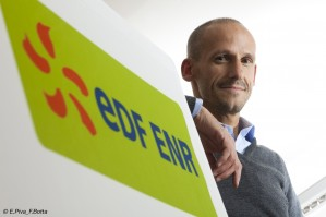 Il CEO Andrea Sasso, Courtesy of EDF ENR