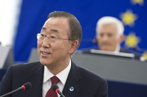 Ban Ki- Moon, Courtesy of European Parliament, Flickr.com