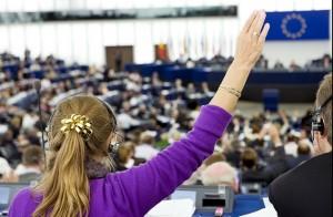 Le votazioni nell'aula di Bruxelles, Courtesy of European Parliament