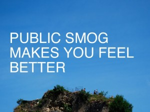 Amy Balkin - video PUBLIC SMOG MAKES YOU FEEL BETTER,  (2006)