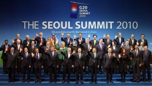 La foto inaugurale del G20 di Seol, Courtesy of SeoulSummit.kr