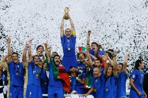 La nazionale di calcio ai mondiali 2006, Courtesy of CONI