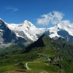 Eiger Mönch e Jungfrau visti da Männlichen