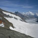 Il ghiacciaio Aletsch