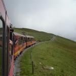 Il treno dello Jungfraujoch