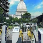 Torino – Postazione automatica di Bike-sharing