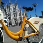 Milano – Postazione automatica di Bike-sharing