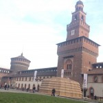 cortile sforzesco