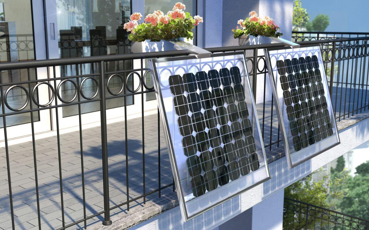 Ri ambientando lancia il pannello fotovoltaico da balcone - Pannelli decorativi fai da te ...