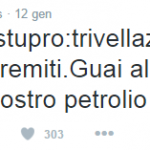 Trivelle_tweet Erri De Luca, Courtesy of Twitter