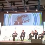 Il ministro Delrio al convegno di Torino, Foto di Greenews.info