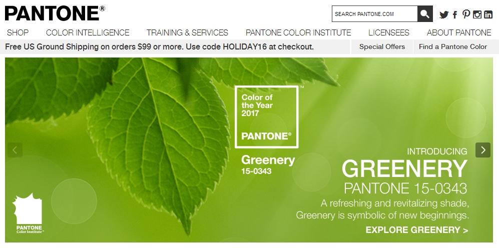 Greenery il colore del 2017 secondo pantone for Pantone 2017 greenery