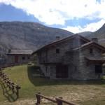 Una baita nel vallone del Colle del Mulo
