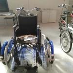 Il modello per disabili in carrozzina di Protec Ambiente