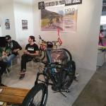 """Fat bike con slitta per bambini per """"escursioni da paura"""" sul Gran Sasso"""