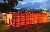 Casa fatta di pallet, courtesy Corriere della Sera.it